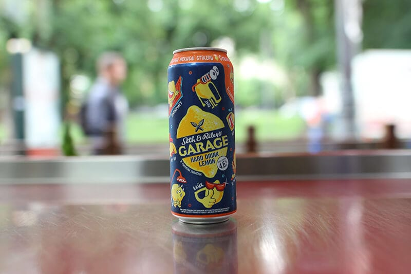 Сидр «Garage lemon»
